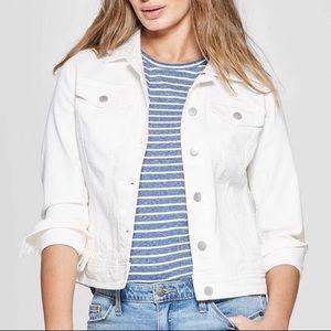 Artisan NY White Denim Jacket